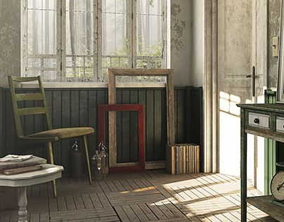 """Check out new work on my @Behance portfolio: """"Entrance hall"""" http://on.be.net/1jklPZw"""