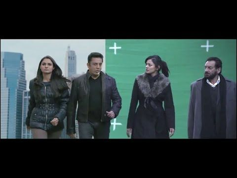 Vishwaroopam movie making - VFX behind Vishwaroopam