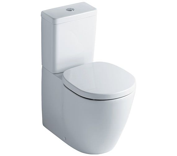 Ideal Standard Concept Close Coupled Back-To-Wall WC Suite 665mm