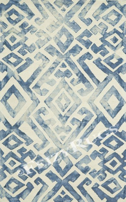 Feizy Rugs. Lorrain Collection, Midnight Blue.