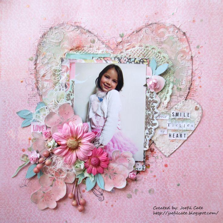 494 best Scrapbook - Heart images on Pinterest | Scrapbook layouts ...