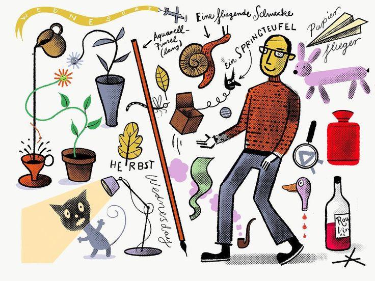 9 besten Gert Albrecht Sketchbook Bilder auf Pinterest | Werbung ...