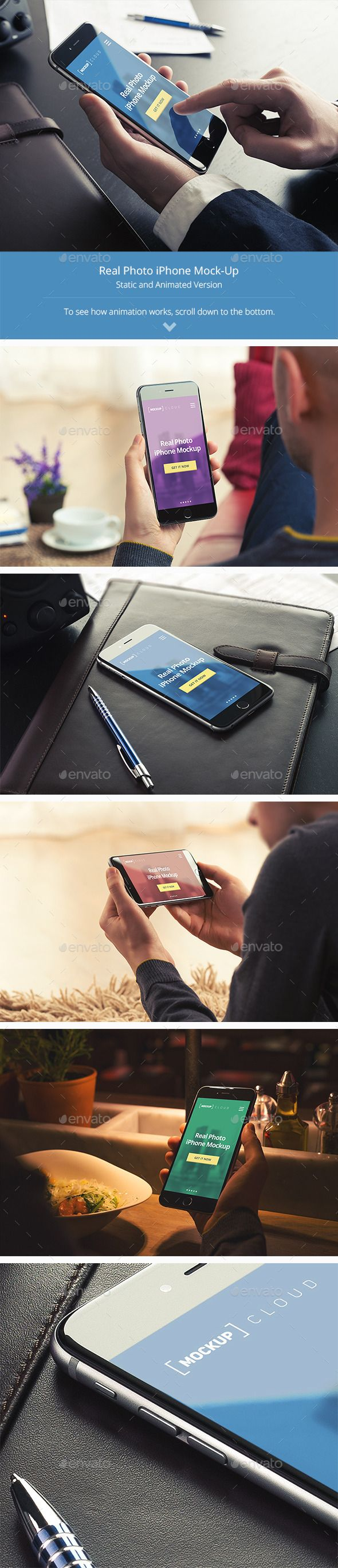 Animated Phone Mock-Up Templates | Download: http://graphicriver.net/item/animated-phone-mockup-templates/10185128?ref=ksioks