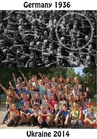 .in fascist crowd there is always one antifascist