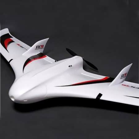 ZETA FX-79 Buffalo FPV Flying Wing EPO 2000mm Wingspan RC Airplane Kit FX-79 Build:  Fx-79 Maiden:       The FX-79 Buffalo is the newest addition to our range of First Person View (FPV) models. It is a great flyer with very predictable handling qualities, excellent stability and lots of wing...