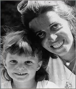 Athina Onassis Roussel with her mother Christina