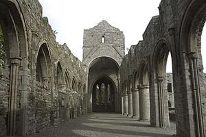 In the 12th century Malachy of Armagh (later St. Malachy) became aware of two new monastic orders in France, the Cistercians and the Cannons Regular of St. Augustine and he decided to introduce both orders to Ireland in an effort to reform the old Irish church which, both morally and organizationally, had fallen out of line with much of the rest of Christian Europe.