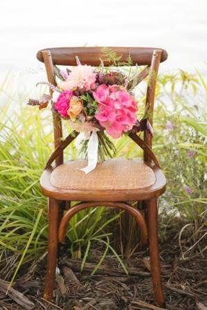 Natural Hampton Cross-Back Chair Chairs | Lovebird Weddings