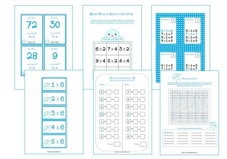 Diverse tafelspelletjes (o.a. Boter-Kaas-En-Eieren, kwartet, etc.)