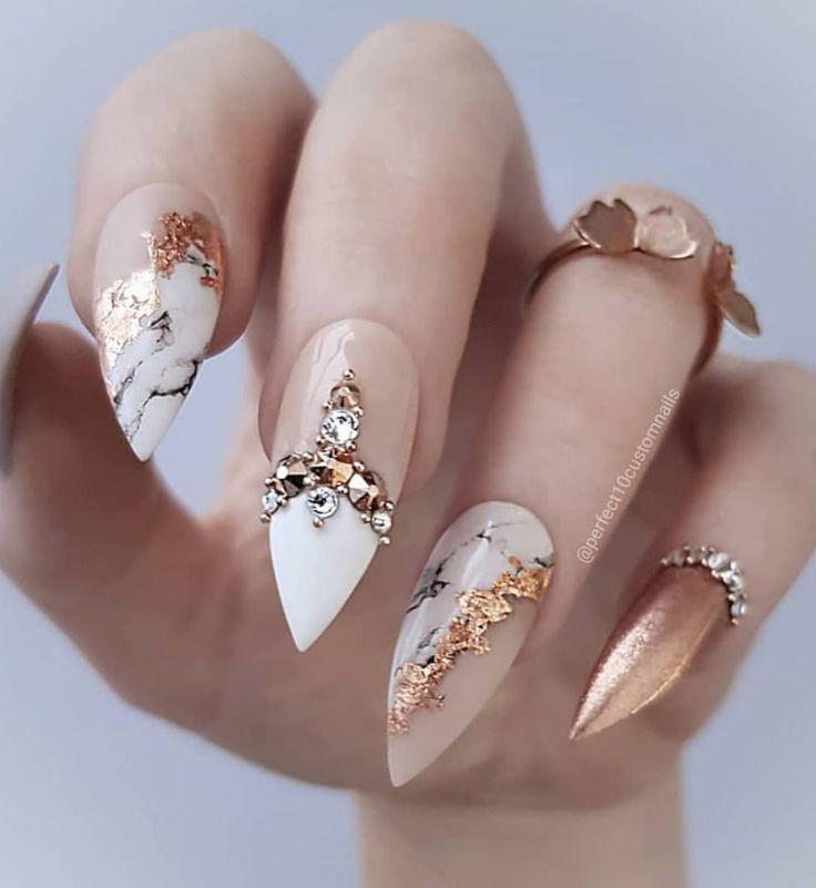 60 Amazing Hottest Stiletto Nail Art Design Ideas – Beauty-Tipps