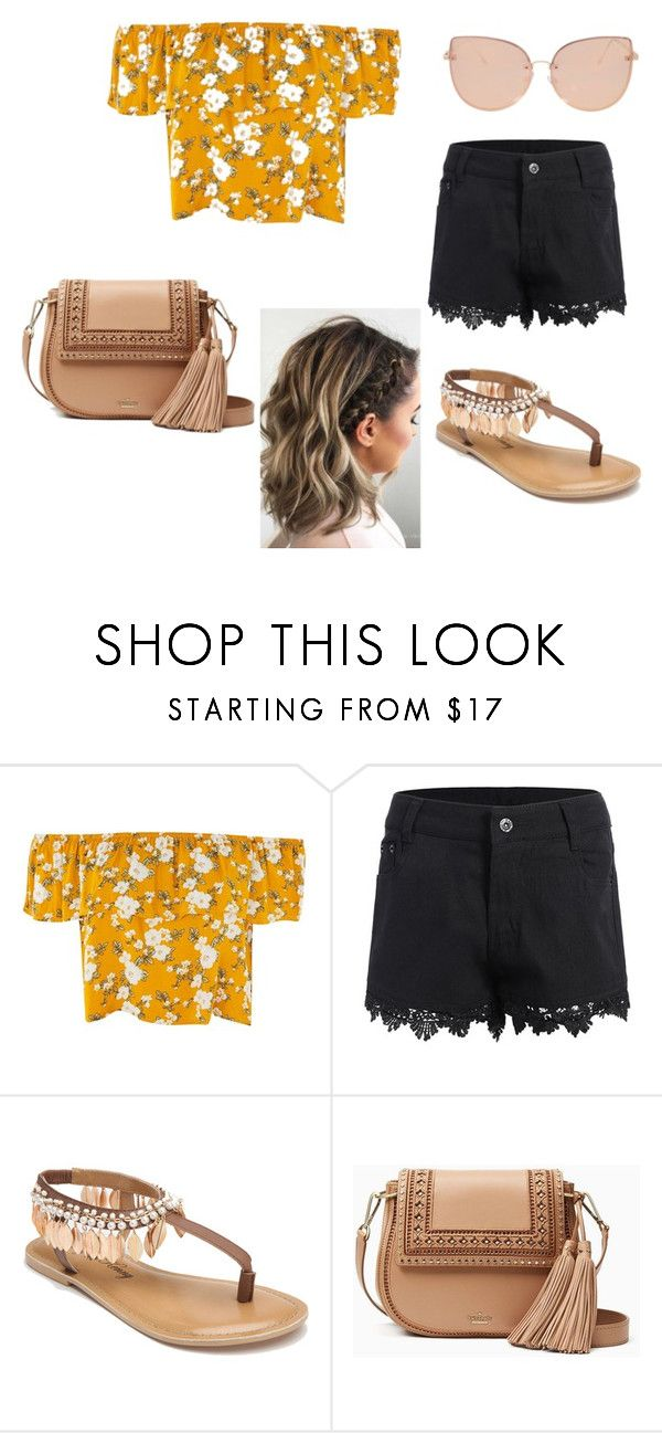 """Verano."" by daniuskaloreto on Polyvore featuring moda, Penny Loves Kenny, Kate Spade y Topshop"