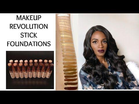 MAKEUP REVOLUTION STICK FOUNDATION - BEAUTYFRENZYBLOG - YouTube