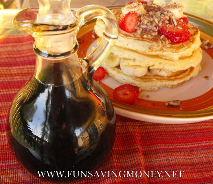 Homemade Maple Syrup Recipe.  Have not tried this yet, looking very much forward to it though.