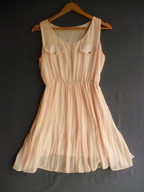 Let's put this in my closet?: Summer Dresses, Lazy Day Outfits, Pink Dresses, Pastel Dresses, Bridesmaid Dresses, Cute Dresses, Pastel Colors, Brown Boots, Chiffon Dresses