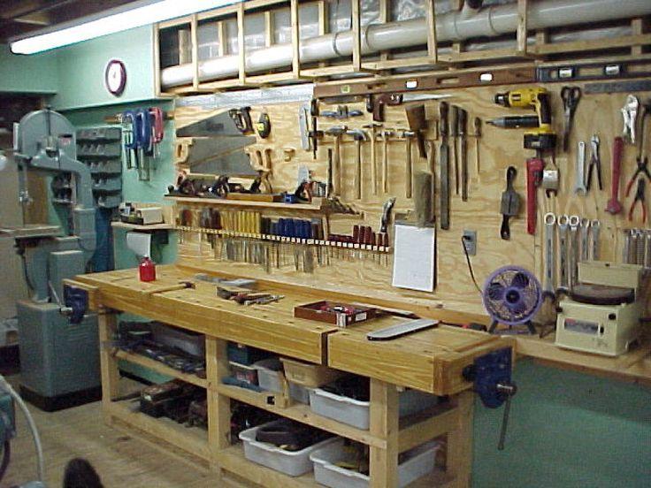 Ideas para organizar zona de trabajo (taller) porfa | Hacer bricolaje es facilisimo.com