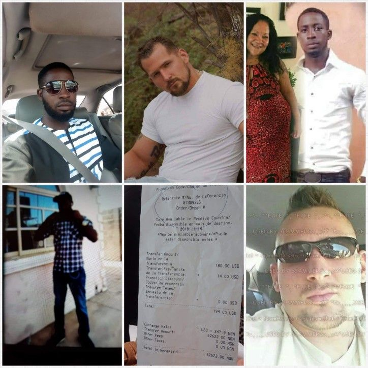 Scammers nigerian male photos of Stolen Photos