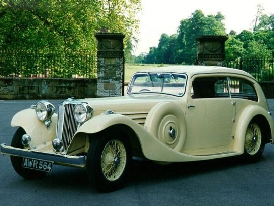 1935 Jaguar Airline Sedan #chevroletclassiccars