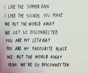 Disconnected lyrics by 5SOS ♡♡♡ This is one of my absolute favorite songs by the boys ♡