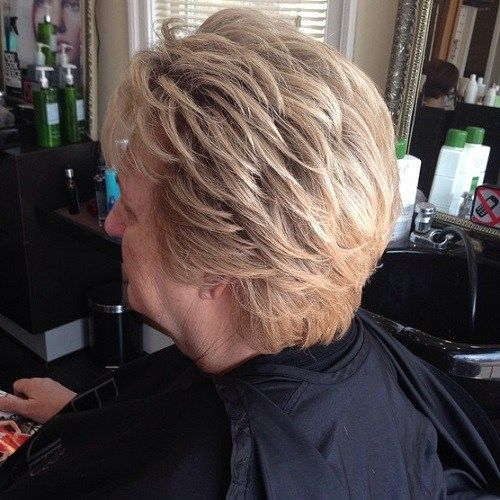 Short Hairstyles For Women Over 50 - Hairiz