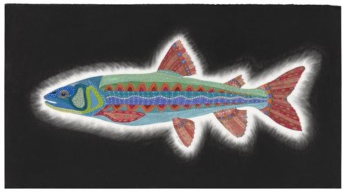 'Dream Trout' by painter & poet Annabelle Jane Murray. A stunning…