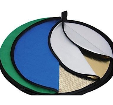 Collapsible Reflector Disc - 7 in 1 - 60cm
