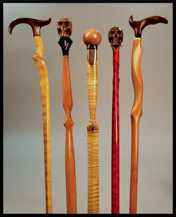 Walking sticks and canes have been around for years as aids for support and balance. Invariably artists and wanna be sculptors got involved in carving them, and a new art category materialized. #2 ...