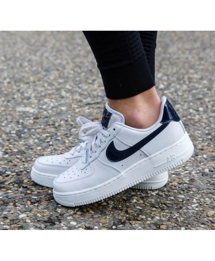 Nike Air Force 1 Femme Blanc Bleu | nike air force 1 | Nike