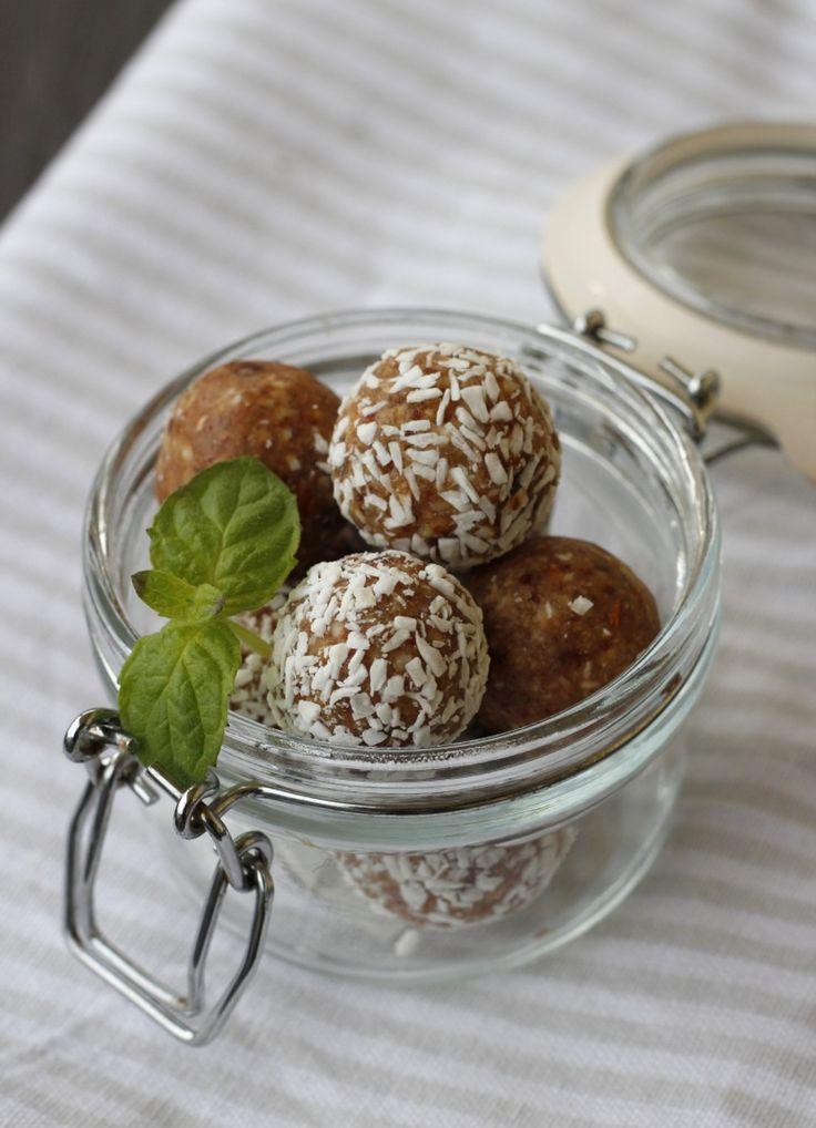 Karamelltrøfler med kokos