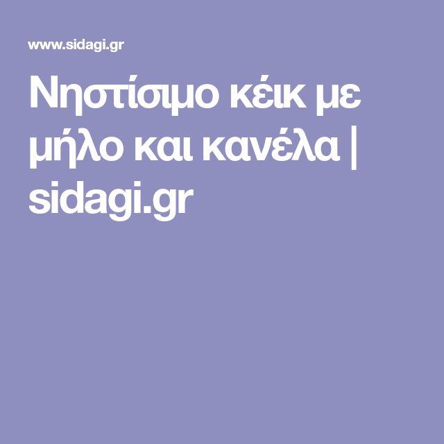 Νηστίσιμο κέικ με μήλο και κανέλα | sidagi.gr