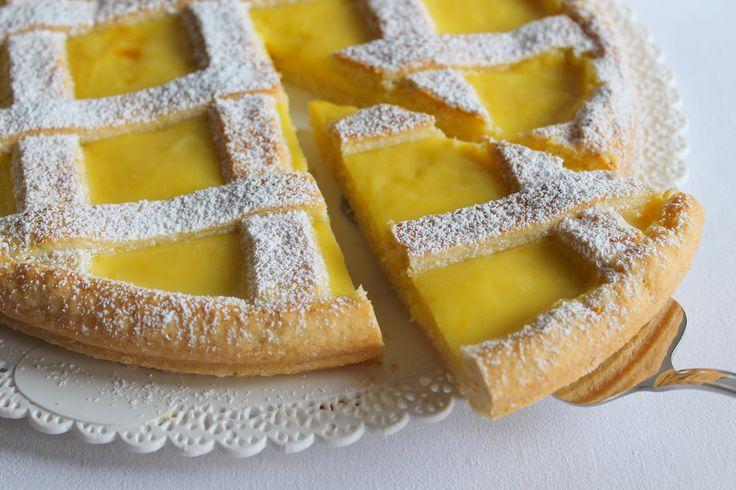 La Tavola Allegra: Crostata con Crema Profumata al Limone