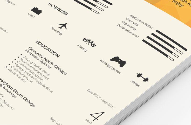 15 Minimalistic Resume Designs for Your Inspiration - Kickresume