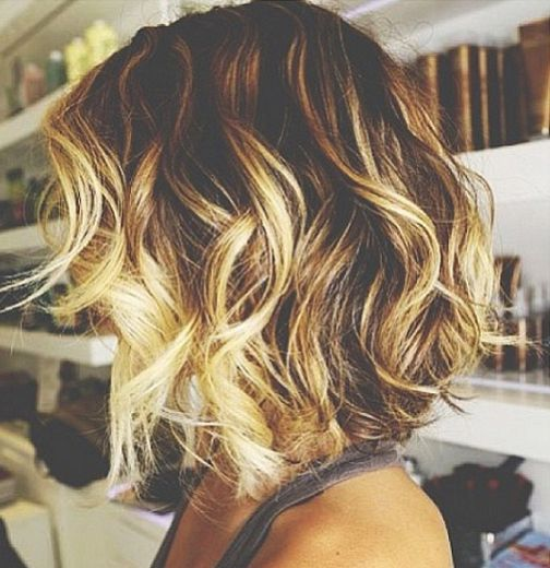 Ombre on short hair... Would help with keeping up with my rootage...You would think as a hair stylist I'd have ample opportunity to color my hair.... Short version..hair stylists get neglected.