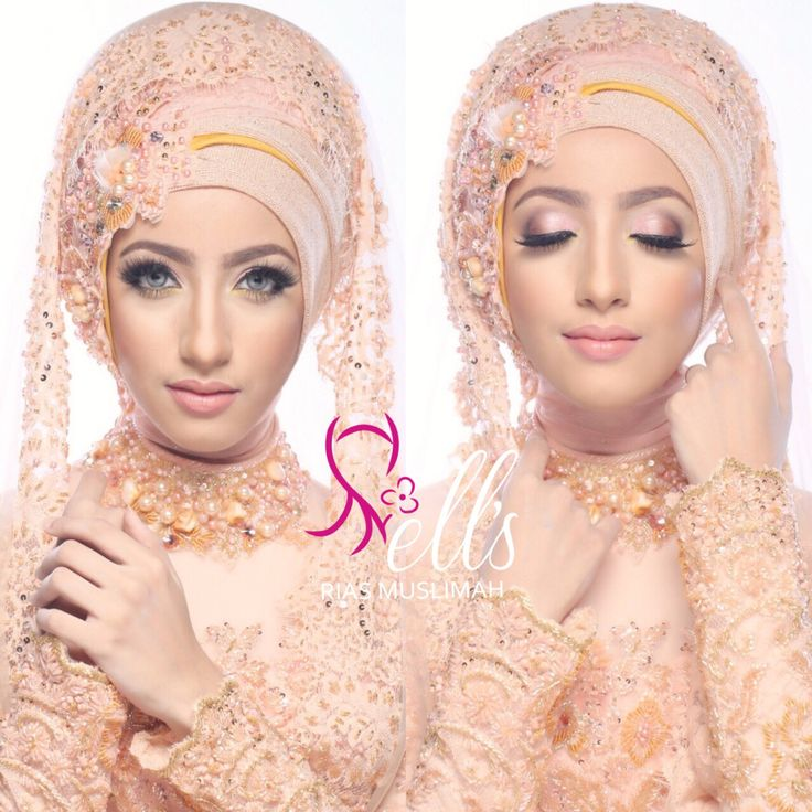 Simple make up & hijab style