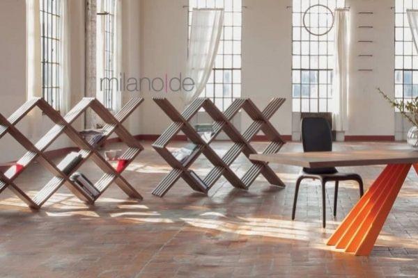 Βιβλιοθήκη Arpa σε ποικιλία μορφών και διαστάσεων, σχεδιάστηκε ως μικρό μεγάλο γλυπτό 100% Made in Italy. Η βιβλιοθήκη είναι κατασκευασμένη σε μασίφ ξύλο βαμμένο σε απόχρωση Canaletto καρυδιά.  https://www.milanode.gr/product/gr/2325/%CE%B2%CE%B9%CE%B2%CE%BB%CE%B9%CE%BF%CE%B8%CE%AE%CE%BA%CE%B7_arpa.html  #βιβλιοθηκη #βιβλιοθηκες #επιπλο #επιπλα #μοντερνο #μοντερνα