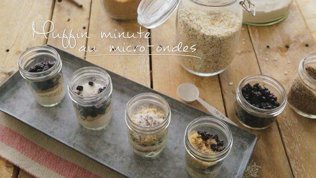 Muffin minute au micro-ondes