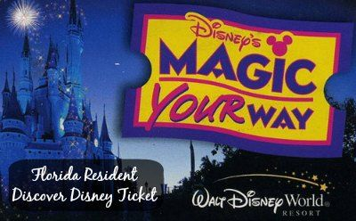 Florida Resident Disney 3 Day Pass 2014 #DisneySide