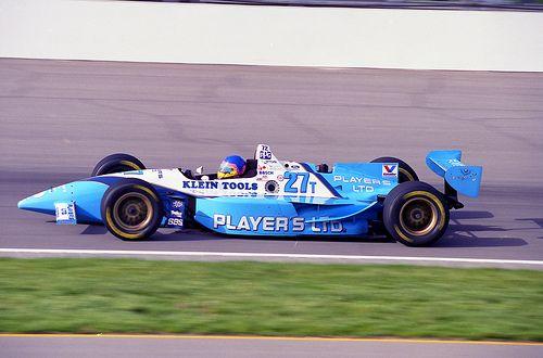 1995 - Villeneuve on track at Indy