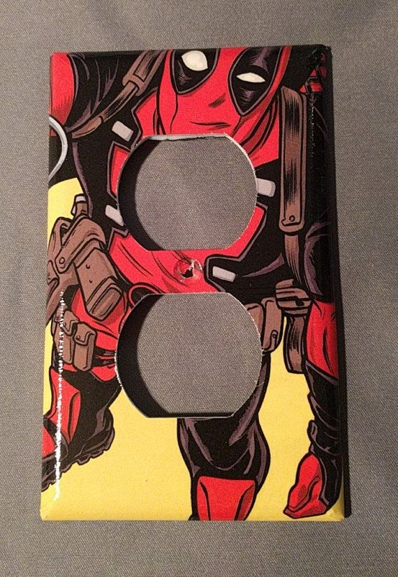 Deadpool Comic Book decoupage outlet cover by PastePotPrefects