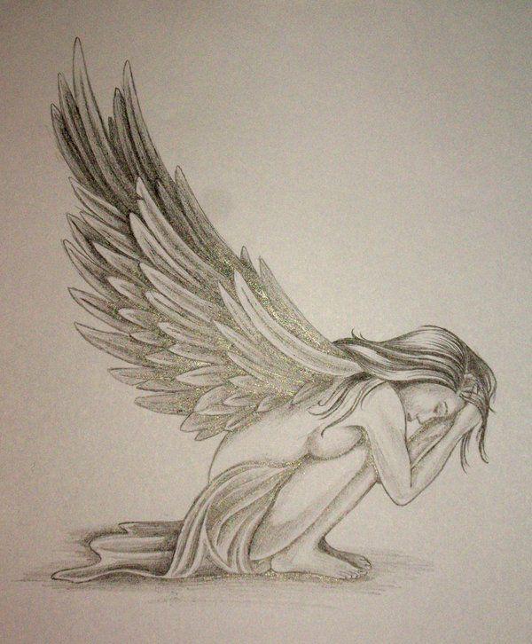 fallen angel in bird cage tattoo - Google Search