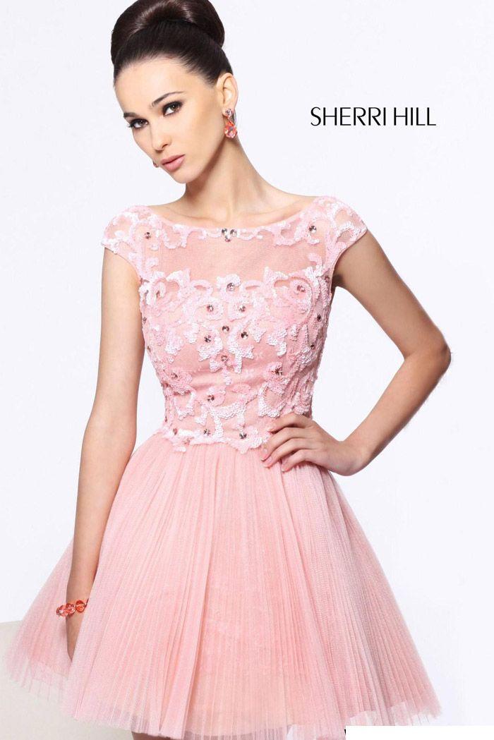 Mejores 65 imágenes de Short Sherri Hill Prom Dresses en Pinterest ...