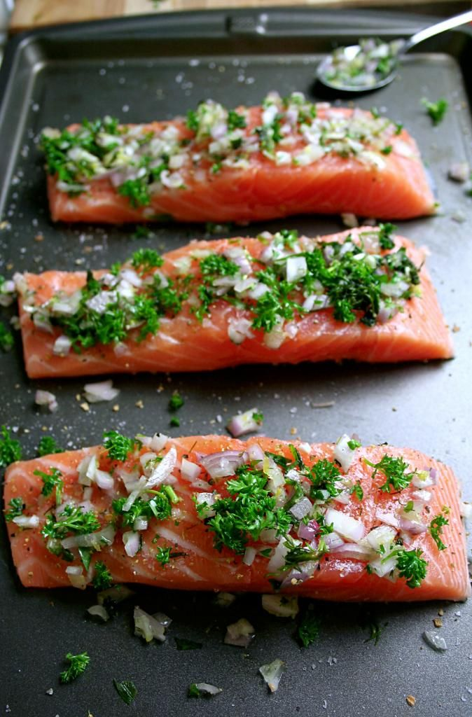 Scarborough FoodFair: Slow Roasted Salmon with Herbs