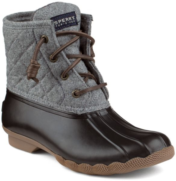 Sperry Top-Sider Saltwater Wool Duck Boot