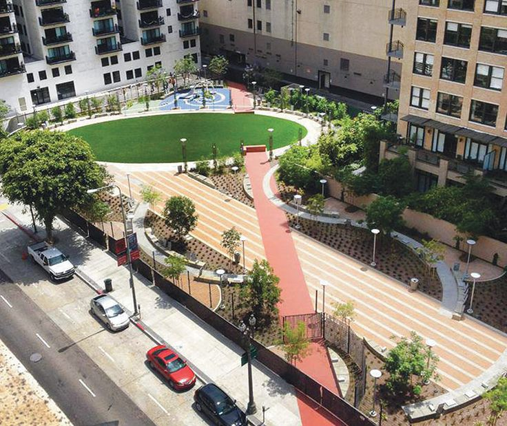 Urban Backyard / Spring Street Pocket Park  Pinned from: http://archpaper.com/news/articles.asp?id=6759