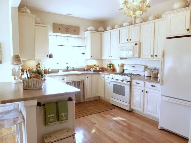 White Country Cottage Kitchen 275 best kitchens images on pinterest | dream kitchens, white