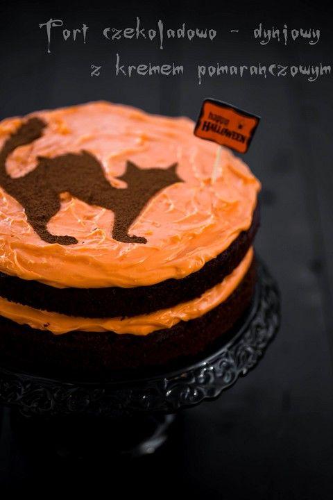 Tort czekoladowo - dyniowy