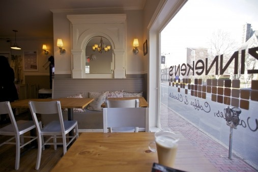 Zinnekeken's - Belgian Waffles in Harvard Square. DiscoverHarvardSquare.com.