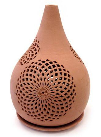 PowerSchool Learning : Advanced Ceramics : Lanterns, Lamps & Candle Holders