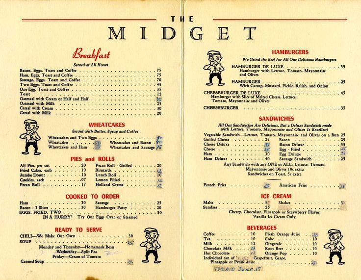 Michigan Ave Cafe Menu