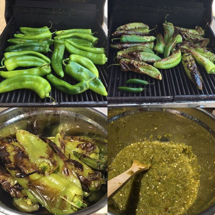 "Green Chile Salsa Recipe (July, 14 2016)—If you ever wanted to know how to make the ""good stuff"", now you know.Here is one of the most traditional New Mexican salsa recipes that you can find. It's very simple to make, and very tasty. You can always put your own spin on it if you'd like as well. #NewMexico #IamNewMexico"