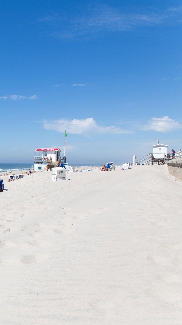 Sonne Strand Meer Urlaub Nordsee Sylt Urlaub Urlaub